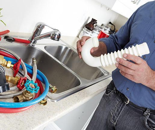 Rénovation cuisine, réparation fuite canalisation Walcourt