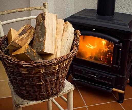 Nettoyage et ramonage de poêle à bois Philippeville